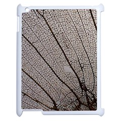 Sea Fan Coral Intricate Patterns Apple Ipad 2 Case (white) by BangZart