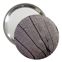 Sea Fan Coral Intricate Patterns 3  Handbag Mirrors