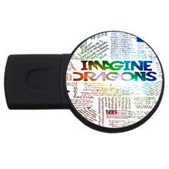 Imagine Dragons Quotes Usb Flash Drive Round (4 Gb) by BangZart