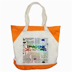 Imagine Dragons Quotes Accent Tote Bag