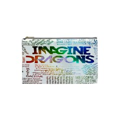 Imagine Dragons Quotes Cosmetic Bag (small)  by BangZart