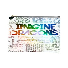 Imagine Dragons Quotes Cosmetic Bag (large)  by BangZart