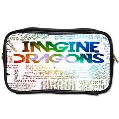 Imagine Dragons Quotes Toiletries Bags by BangZart