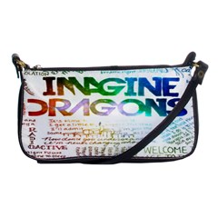 Imagine Dragons Quotes Shoulder Clutch Bags by BangZart