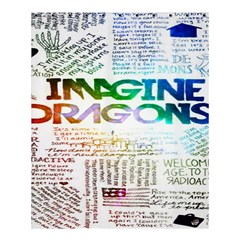 Imagine Dragons Quotes Shower Curtain 60  X 72  (medium)  by BangZart