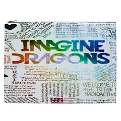 Imagine Dragons Quotes Cosmetic Bag (xxl)  by BangZart
