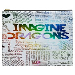 Imagine Dragons Quotes Cosmetic Bag (xxxl)  by BangZart