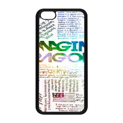 Imagine Dragons Quotes Apple Iphone 5c Seamless Case (black) by BangZart