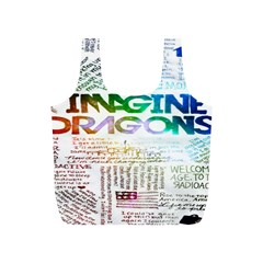 Imagine Dragons Quotes Full Print Recycle Bags (s)  by BangZart