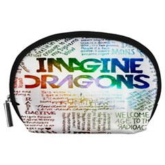 Imagine Dragons Quotes Accessory Pouches (large)