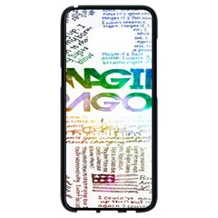 Imagine Dragons Quotes Samsung Galaxy S8 Black Seamless Case by BangZart