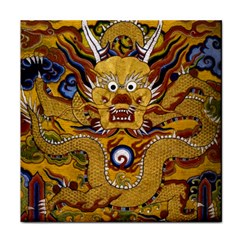 Chinese Dragon Pattern Face Towel
