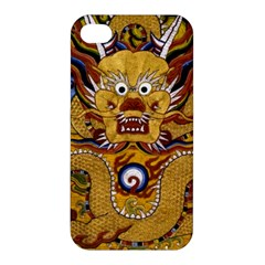 Chinese Dragon Pattern Apple Iphone 4/4s Premium Hardshell Case by BangZart