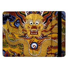 Chinese Dragon Pattern Samsung Galaxy Tab Pro 12 2  Flip Case