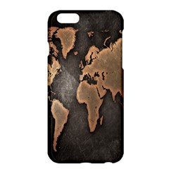 Grunge Map Of Earth Apple Iphone 6 Plus/6s Plus Hardshell Case by BangZart