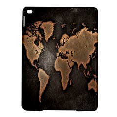 Grunge Map Of Earth Ipad Air 2 Hardshell Cases by BangZart