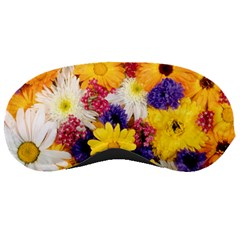 Colorful Flowers Pattern Sleeping Masks