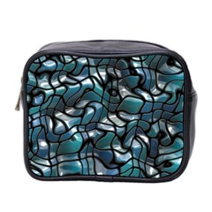 Old Spiderwebs On An Abstract Glass Mini Toiletries Bag 2 Side by BangZart