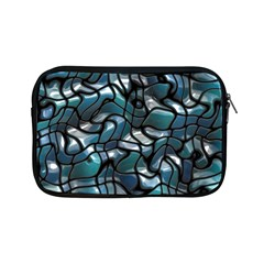 Old Spiderwebs On An Abstract Glass Apple Ipad Mini Zipper Cases