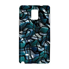 Old Spiderwebs On An Abstract Glass Samsung Galaxy Note 4 Hardshell Case by BangZart