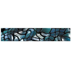 Old Spiderwebs On An Abstract Glass Flano Scarf (large)