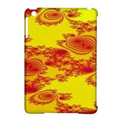 Floral Fractal Pattern Apple Ipad Mini Hardshell Case (compatible With Smart Cover)