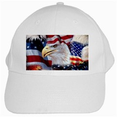 United States Of America Images Independence Day White Cap by BangZart