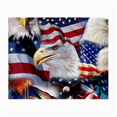 United States Of America Images Independence Day Small Glasses Cloth