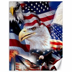 United States Of America Images Independence Day Canvas 18  X 24   by BangZart