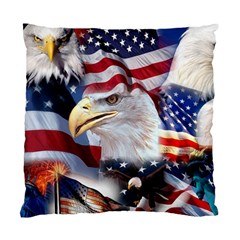 United States Of America Images Independence Day Standard Cushion Case (two Sides)