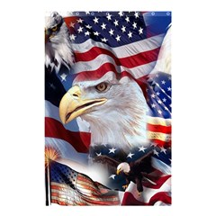 United States Of America Images Independence Day Shower Curtain 48  X 72  (small)