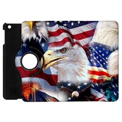 United States Of America Images Independence Day Apple Ipad Mini Flip 360 Case