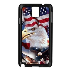 United States Of America Images Independence Day Samsung Galaxy Note 3 N9005 Case (black)