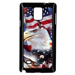 United States Of America Images Independence Day Samsung Galaxy Note 4 Case (black)