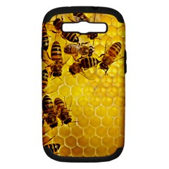 Honey Honeycomb Samsung Galaxy S Iii Hardshell Case (pc+silicone)