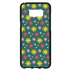The Gift Wrap Patterns Samsung Galaxy S8 Plus Black Seamless Case