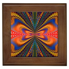 Casanova Abstract Art Colors Cool Druffix Flower Freaky Trippy Framed Tiles