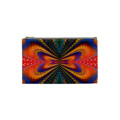 Casanova Abstract Art Colors Cool Druffix Flower Freaky Trippy Cosmetic Bag (small)