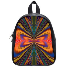 Casanova Abstract Art Colors Cool Druffix Flower Freaky Trippy School Bags (small)  by BangZart