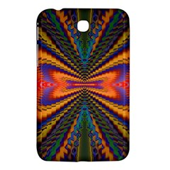 Casanova Abstract Art Colors Cool Druffix Flower Freaky Trippy Samsung Galaxy Tab 3 (7 ) P3200 Hardshell Case