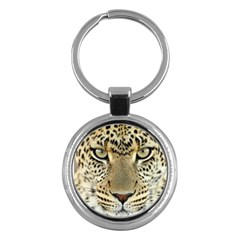 Leopard Face Key Chains (round)