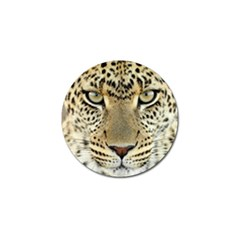 Leopard Face Golf Ball Marker (10 Pack) by BangZart