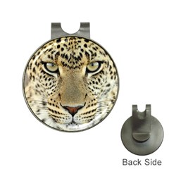Leopard Face Hat Clips With Golf Markers by BangZart