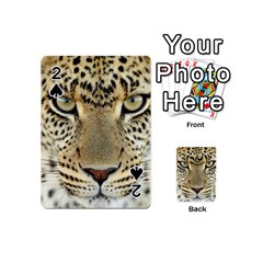 Leopard Face Playing Cards 54 (mini)