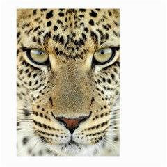 Leopard Face Large Garden Flag (two Sides)
