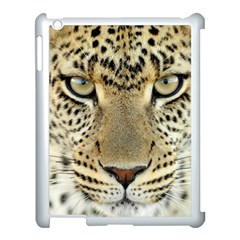 Leopard Face Apple Ipad 3/4 Case (white)