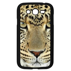 Leopard Face Samsung Galaxy Grand Duos I9082 Case (black)
