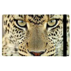 Leopard Face Apple Ipad Pro 12 9   Flip Case