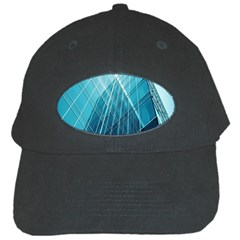 Glass Bulding Black Cap by BangZart