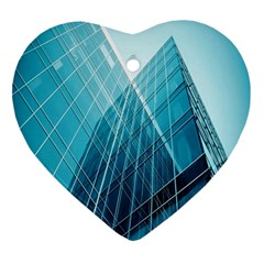 Glass Bulding Ornament (heart) by BangZart